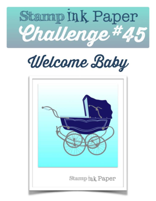 Join us for the Stamp Ink Paper Challenge--this week's theme is BABY!!  Head to my blog to see my take on this theme complete with a video tutorial!
