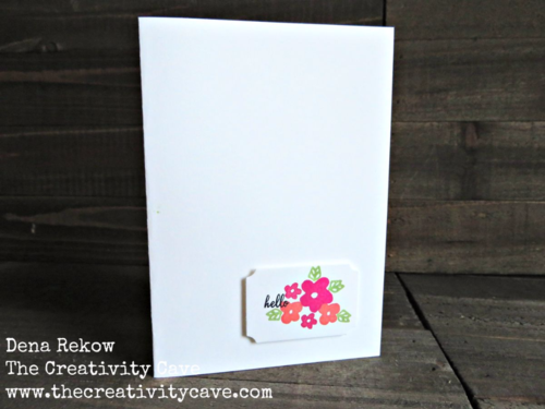 Video tutorial on how to make a variety of super simple cards that take 3-5 minutes to create using Stampin Up's Memories in the Making Stamp Set!