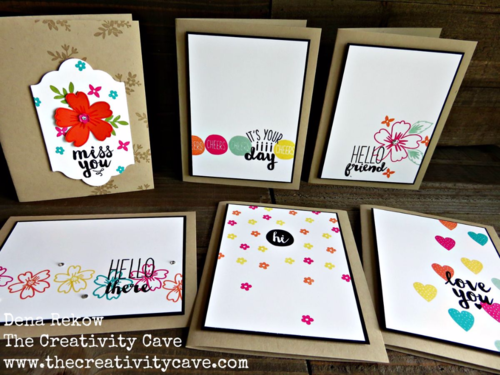 Great video on using the new Oh Happy Day Card Kit from Stampin Up!