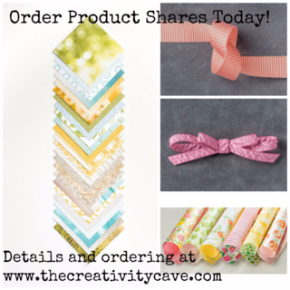 Order your DSP and Ribbon Product Shares Today at www.thecreativitycave.com