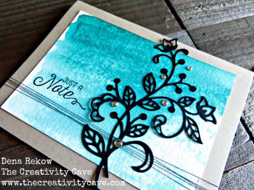 Video tutorial for this gorgeous card using Stampin Up's Flourishing Phrases Bundle on my blog!