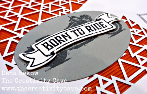 One Wild Ride meets Paper Pumpkin in this awesome Father's Day or Masculine card! Video tutorial on my blog: www.thecreativity... #stampinup #thecreativitycave #paperpumpkin #motorcycle #harleydavidson #handmade
