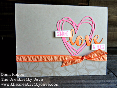Fantastic video on my blog for making this adorable card using Stampin Up's Sunshine Sayings Stamp set and framelits. www.thecreativitycave.com #stampinup #thecreativitycave #love #handmde #sunshinesayings
