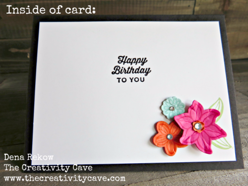 Check out the fun video for making this ADORABLE card using Stampin Up's Large Letters Framelits and Falling Flowers Bundle on my blog: www.thecreativitycave.com #stampinup #largeletterframelits #fallingflowers #popofpinkdsp #thecreativitycave #handmade