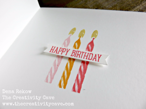 Awesome video on how to create this amazing card, plus another version on my blog, www.thecreativitycave.com! #stampinup #thecreativitycave #sweetcupcake