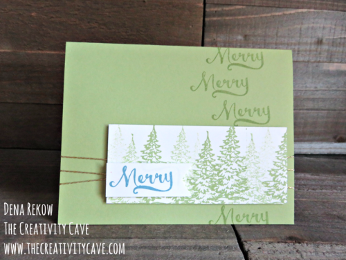 Check out a video for tips on making Christmas Cards on my blog www.thecreativtycave.com #stampinup #thecreativitycave #christmas #handmade