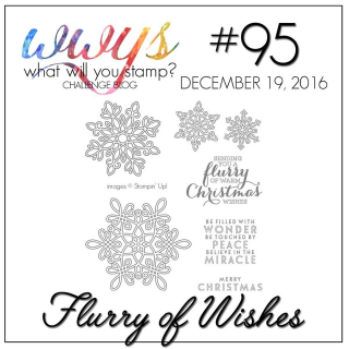 Check out my video tutorial on a great, colorful card using Stampin Up's Flurry of Wishes Stamp Set on my blog www.thecreativitycave.com #stampinup #thecreatvitycave #flurryofwishes