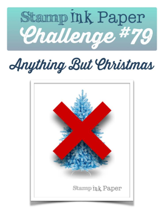 Check out my take on this challenge on my blog, www.thecreativitycave.com #stampinup #thecreativitycave