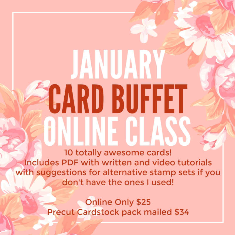 Feb 2017 Card Buffet
