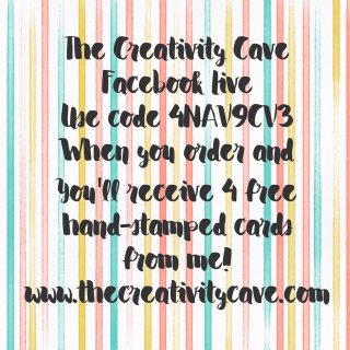 Feb 13 FB Live from The Creativity Cave Ordering Special www.thecreativitycave.com #stampinup #thecreativitycave #FBLiveSpecials