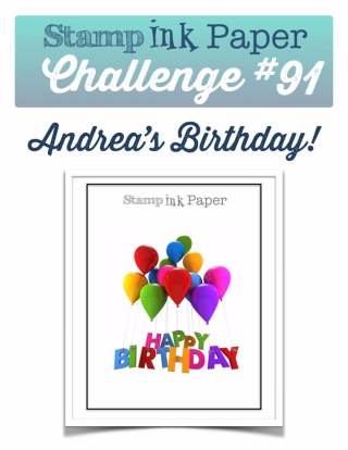 Check out my take on our fun theme this week at SIP on my blog (including a video tutorial) at www.thecreativitycave.com #stampinup #birthday #SIPChallenge #bigonbirthdays #balloonadventures