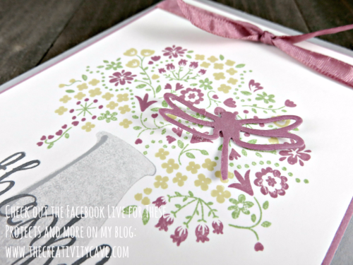 Check out the FB Live video on my blog of these an more projects at www.thecreativitycave.com #stampinup #thecreativitycave #fblive #thankfullife