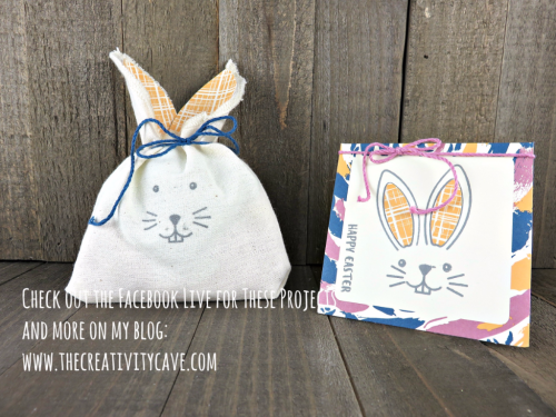 Check out the FB Live video on my blog of these an more projects at www.thecreativitycave.com #stampinup #thecreativitycave #fblive #paperpumpkin #easter