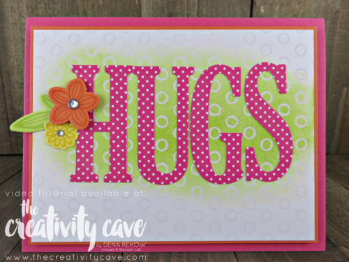 Join me as I teach you how to create this SUPER fun project using Stampin Up's Falling Flowers Bundle  plus there is also an online class!!  www.thecreativitycave.com #stampinup #fallingflowers
