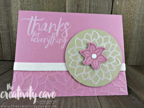 Check out the FB Live where I preview some projects from the upcoming 2017-18 Stampin Up Catalog and teach you some fun projects on my blog www.thecreativitycave.com #stampinup #thecreativitycave #fblive