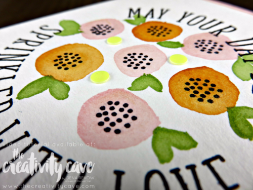 Check out the video tutorial for making super simple watercolored flower cards using Stampin Up's May Paper Pumpkin Kit on my blog: www.thecreativitycave.com #stampinup #thecreativitycave #watercolor