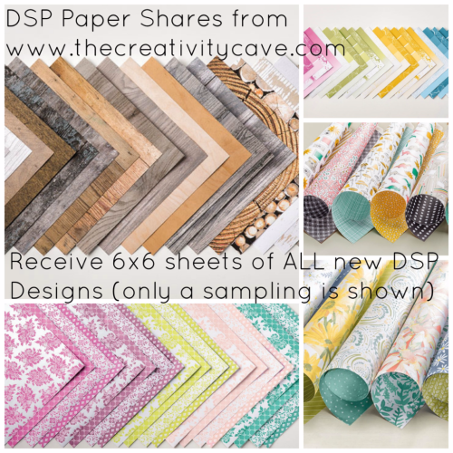 DSP Shares from The Creativity Cave:  Order Yours Today!!! www.thecreativitycave.com #stampinup #DSPShare #newcatalog