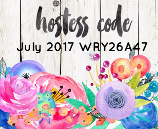 Use July's Host Code for gifts with purchase from The Creativity Cave, plus you'll become a Creativity Cave VIP Rewards Member--check out the details at www.thecreativitycave.com #stampinup #thecreativitycave #VIPRewardsMember