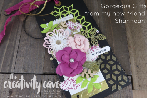 Check out these gorgeous projects from my beautiful new friend, Shannean from Australia!  Check out the others on my blog: www.thecreativitycave.com #stampinup #fblive #thecreativitycave