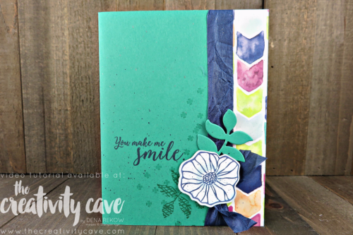 Check out this week's FB Live video with this simple Oh So Eclectic Card plus the new Holiday Catalog Preview of Carols of Christmas, and a couple more CUTE cards! #stampinup #thecreativitycave #fblive #ohsoeclectic