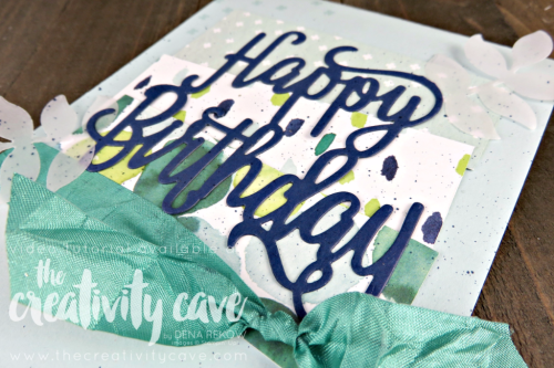 Check out the FB Live Video on my Blog for creating this gorgeous card using Stampin Up's Happy Birthday Gorgeous Bundle, Oh So Eclectic Bundle and Naturally Eclectic DSP at www.thecreativitycave.com #stampinup #thecreativitycave #ohsoeclectic #happybirthdaygorgeous