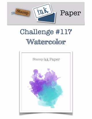 Check out the video tutorial for my FAVORITE technique on my blog at www.thecreativitycave.com #stampinup #thecreativitycave #sipchallenge #watercolor #Lovelyinsidenandout
