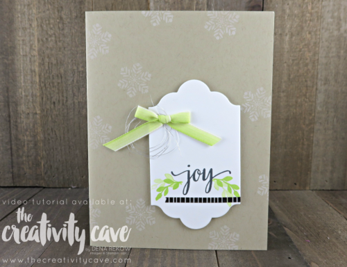 Check out the super fun colors for these simple Christmas cards made with November's Paper Pumpkin kit including video tutorial on my blog at www.thecreativitycave.com #stampinup #thecreativitycave #paperpumpkin #christmas #christmascards #bemerry #quickandeasy #bigshot #lotsoflabelsframelits