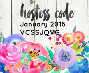 Jan 2018 Hostess-Code