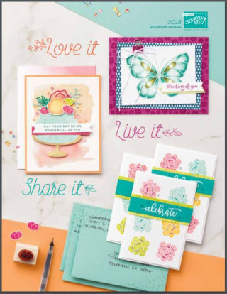 This year's Occasions Catalog is FANTASTIC! Make sure to order your favorites at www.thecreativitycave.com and earn fabulous VIP Rewards Perks for ordering through The Creativity Cave! #stampinup #thecreativitycave #occasionscatalog #viprewards