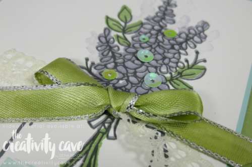 Check out my Friday Quickie Techniques and Tips Video on HOW TO TIE BOWS!  It is so easy and I think you'll love all the cards!  Check it out on my blog at www.thecreativitycave.com #stampinup #howtotieabow #videotutorial #thecreativitycave #jaroflove #lotsoflavender