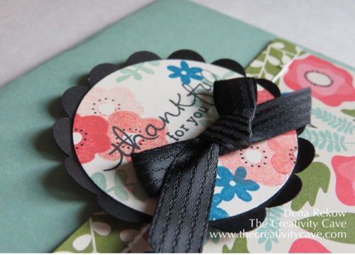 Stampin Up Pretty Petals Endless Thanks