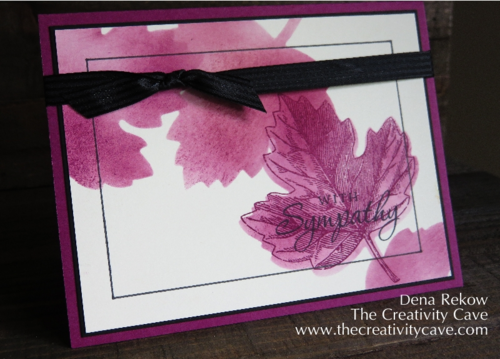 Friday Quickie: Framelit Stencils with Vintage Leaves and Leaflet Framelits by The Creativity Cave