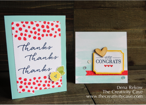 Stampin Up Watercolor Wishes Kit 4