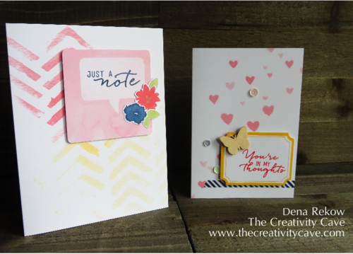 Stampin Up Watercolor Wishes 5