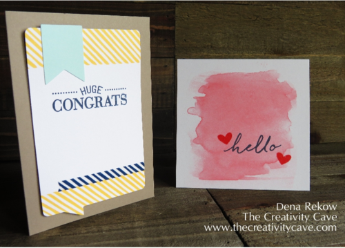 Stampin Up Watercolor Wishes 8