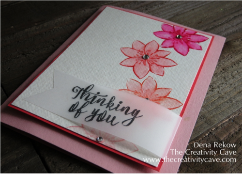 Beautiful Watercolored Card with an awesome video showing how easy it is to achieve this beautiful watercolor look using Stampin Up's October Paper Pumpkin Kit