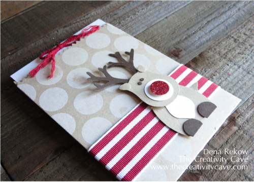 Ridiculously Cute Reindeer made with Stampin Up Punches