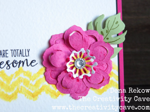 Fusion Challenge Using Stampin Up's Grateful Bunch and Botanical Blooms Bundle