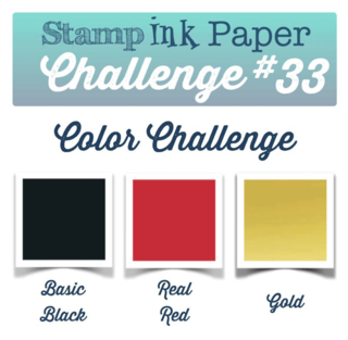 Stamp Ink Paper Color Challenge #33