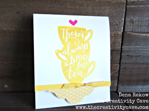 Check out the Video on my blog on how to make fun Pop Up Surprise Cards using Stampin Up's A Nice Cuppa stamp set and Bundle!