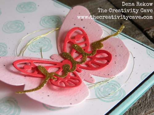 Make a gorgeous butterfly cards with some fun supplies from Stampin Up--video on my blog--I promise it is entertaining and full of great tips!