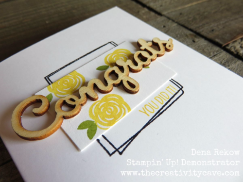 Adorable Quick and Easy Floral Card using Stampin Up products--video tutorial on my blog!