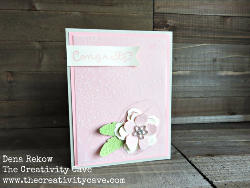 How to make a Beautiful Botanical Blooms Card using Stampin Ups Botanical Blooms Bundle and Botanical Gardens Vellum.  Video Tutorial on my blog along with supplies and alternative color schemes!