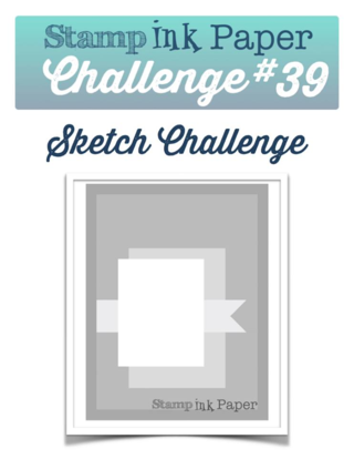 Join us for the Stamp Ink Paper Challenge this week for a sketch challenge!