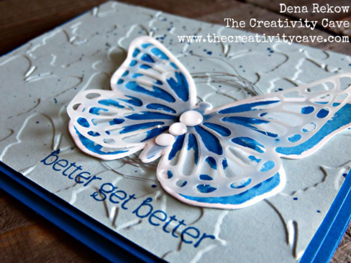 Check out all the awesome Vellum projects in my Friday Quickie Video tutorial featuring Stampin Up's Watercolor Wings Bundle and Butterflies Thinlits