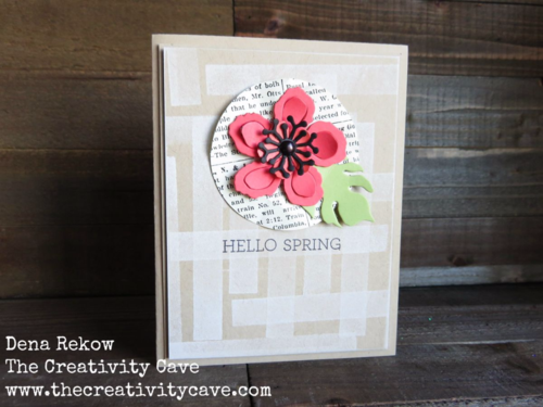 Video Tutorial for this gorgeous card using Stampin Up's Botanical Blooms Stamp set plus more samples on my blog!