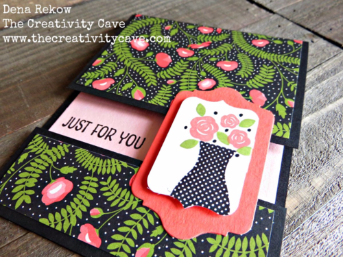 Check out the awesome video on my blog for how to create this awesome Split Card Using Stampin Up's Floral Wings Stamp Set