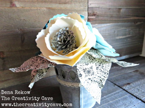 Check out this gorgeous flower bouquet and the video tutorial on how easy it is to create on my blog using Stampin Up's Bouquet Die.