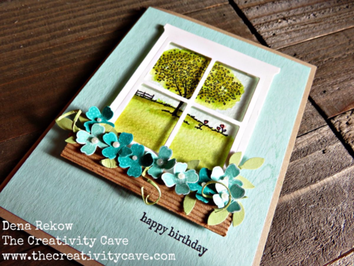 Great Video tutorial for making this awesome card including some fantastic tips using Stampin Up's Happy Home Stamp Set and Hearth & Home Thinlits