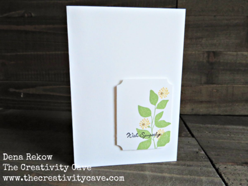 Video tutorial on how to make a variety of super simple cards that take 3-5 minutes to create using Stampin Up's Summer Silhouettes Stamp Set!
